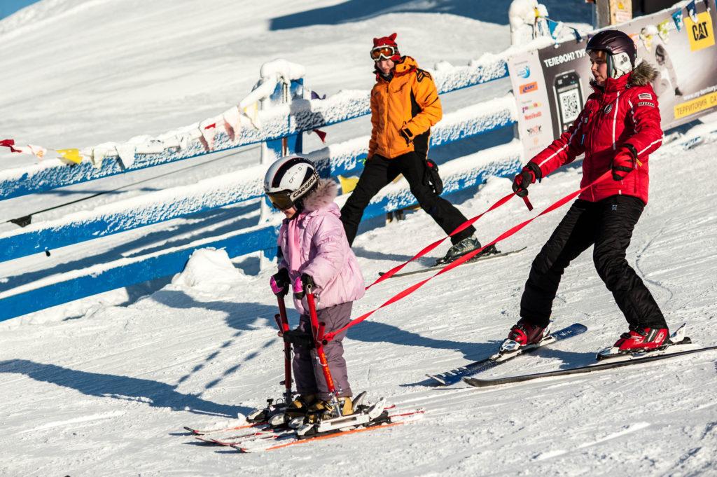 Благотворительный фонд Путь к Мечте - адаптивные горные лыжи